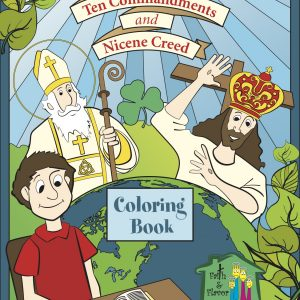 The Bible, Ten Commandments, and Nicene Creed Coloring Book Cover