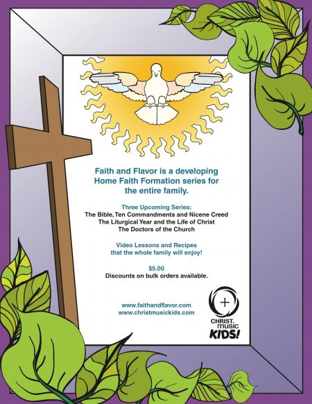 Doctors of the Church coloring book back cover